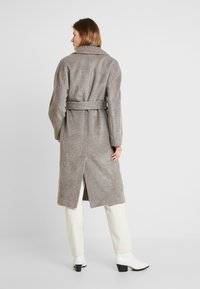 Whistles - DARCEY DRAWN BELTEDWRAP COAT - Classic coat - grey - 2