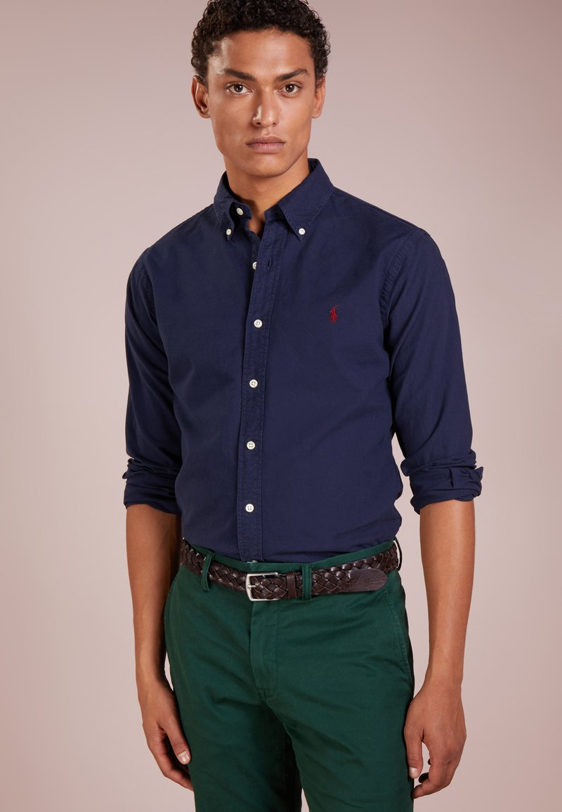 Polo Ralph Lauren - OXFORD SLIM FIT - Camicia - navy
