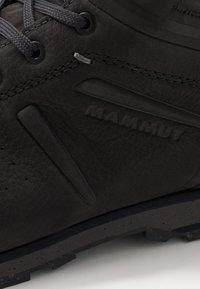 Mammut - ALVRA II MID WP MEN - Hikingschuh - phantom/dark titanium - 5