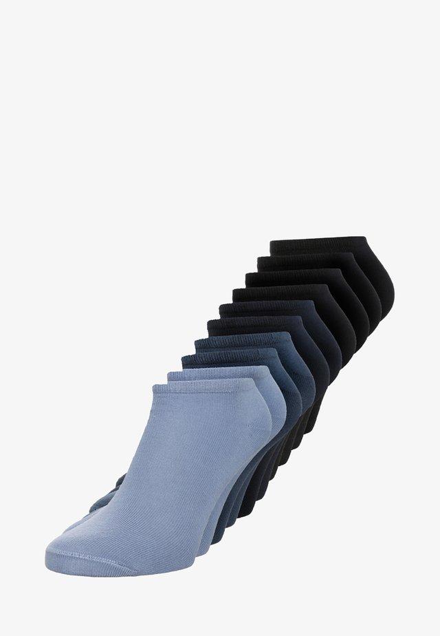 ONLINE ESSENTIAL SNEAKER 10 PACK UNISEX  - Socks - navy/dark blue/jeans/stone