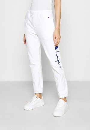 ELASTIC CUFF PANTS - Pantalon de survêtement - white