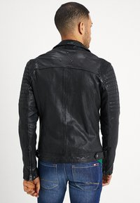 Be Edgy - BESPACE - Leather jacket - black - 2