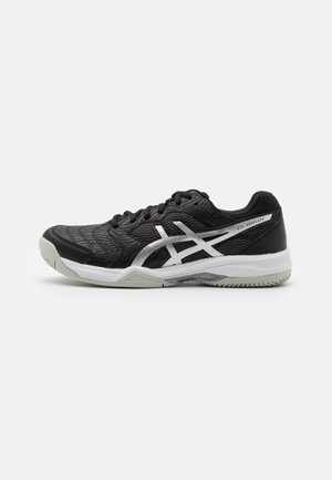 GEL-DEDICATE 6 CLAY - Clay court tennis shoes - black/white