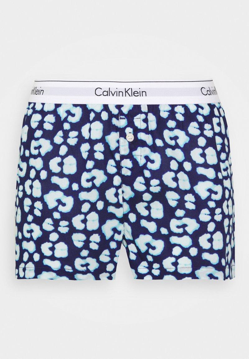 Calvin Klein Underwear - COMFORT SLEEP SHORT - Pyjama bottoms - purple fuss