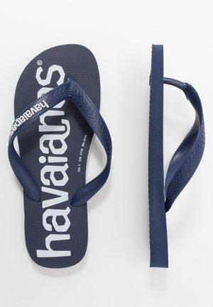 TOP LOGOMANIA UNISEX - Pool shoes - navy blue