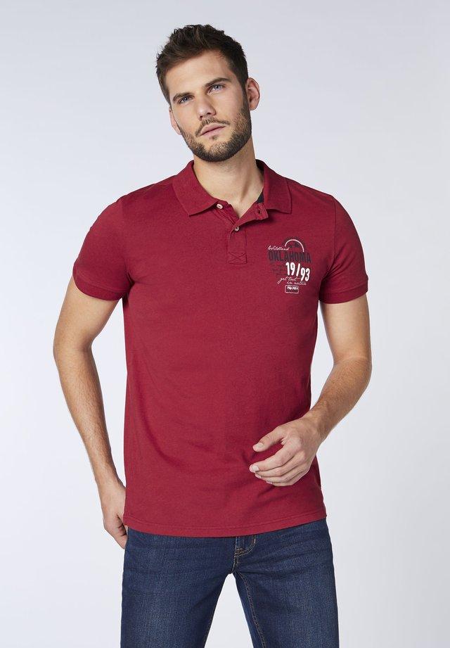 Polo shirt -  rio red