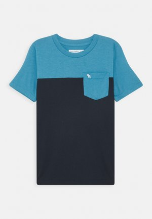 NOVELTY BASIC - Print T-shirt - blue/navy