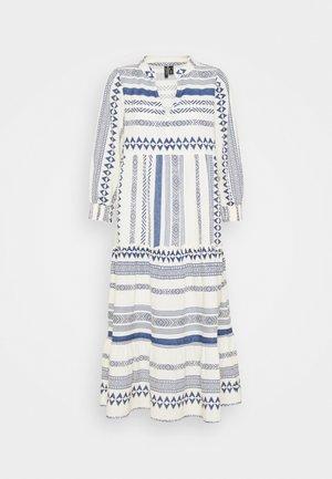 Day dress - birch/sodalite blue