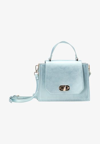 Across body bag - blue metallic