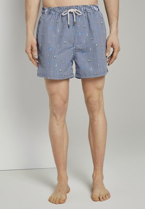 NIGHTWEAR GEMUSTERTE BADESHORTS - Pyjama bottoms - navy/multicolor