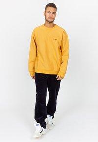 Carhartt WIP - AMERICAN SCRIPT - Sweatshirt - winter sun - 1