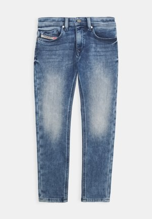 SLEENKER-J JJJ-N PAN - Slim fit jeans - blue denim