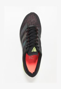 adidas Performance - ADIZERO ADIOS  - Competition running shoes - core black/signal green - 1