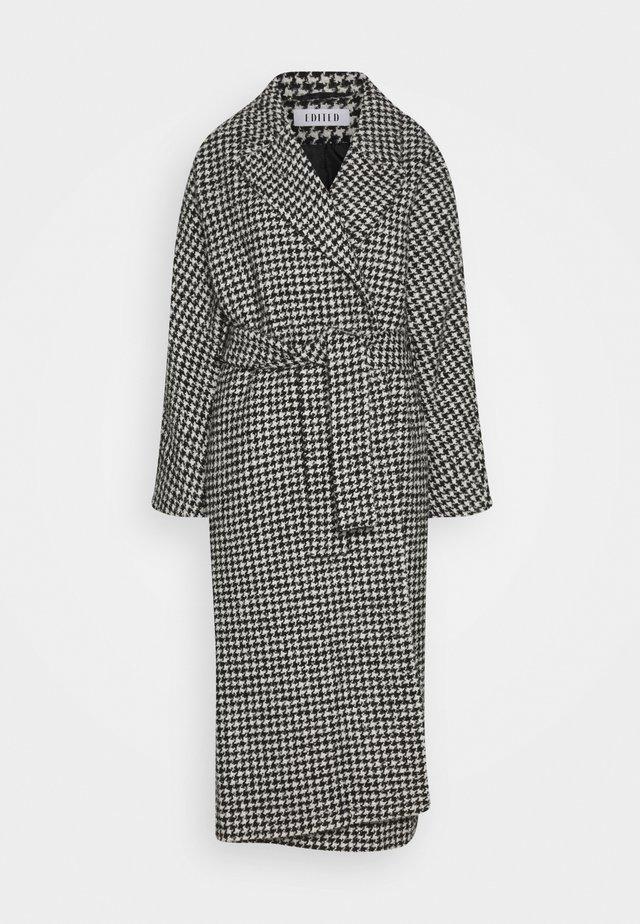 CASSIDY COAT - Cappotto classico - black/white