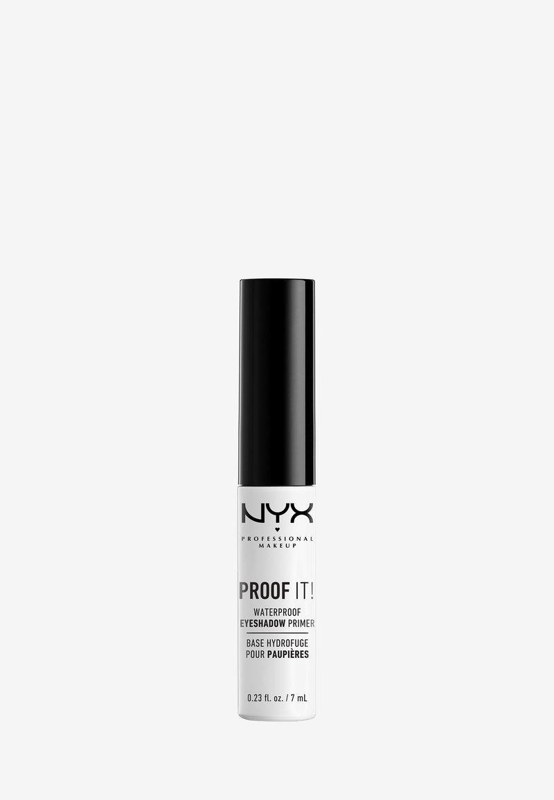 Nyx Professional Makeup - PROOF IT! WATERPROOF SHADOW PRIMER - Eye primer - -
