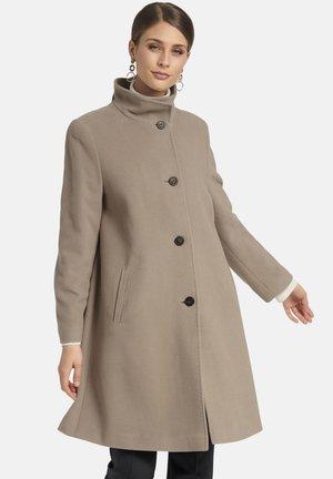 MIT UMLEGEKRAGEN - Classic coat - taupe