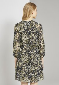 TOM TAILOR - Robe chemise - yellow flower design - 2