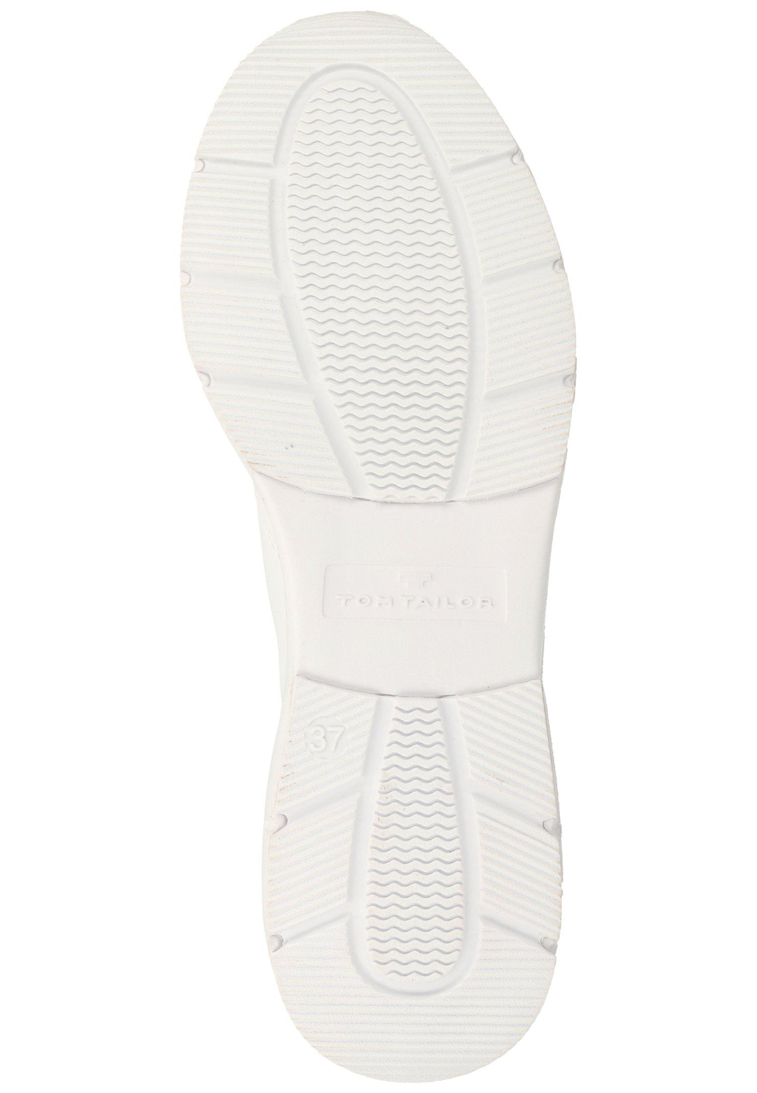 TOM TAILOR Baskets montantes - white - Sneakers femme Classique