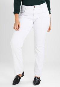 Zizzi - EMILY - Slim fit jeans - bright white - 0