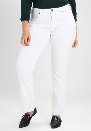 EMILY - Slim fit jeans - bright white
