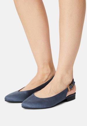 SANA - Bailarinas con hebilla - light blue