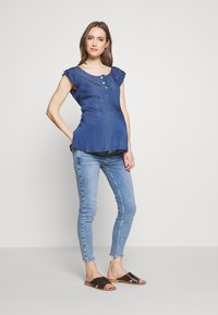 Balloon - NURSING BLOUSE - Blůza - blue - 1