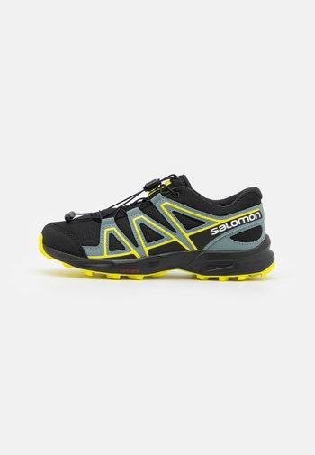 SPEEDCROSS UNISEX - Hiking shoes - black/evening primrose