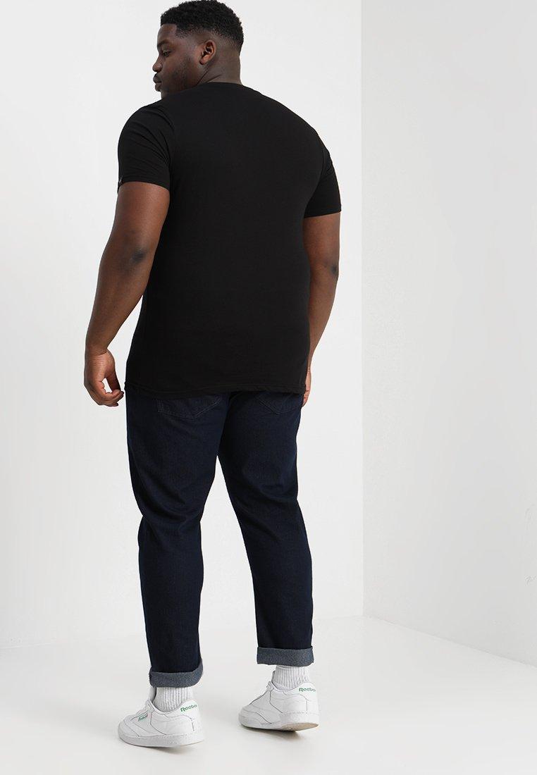Alpha Industries BASIC - Print T-shirt - black X0gX0