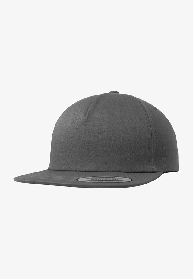 UNSTRUCTURED 5-PANEL SNAPBACK - Kšiltovka - charcoal