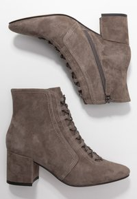 Bibi Lou Wide Fit - Ankle Boot - antracita - 3