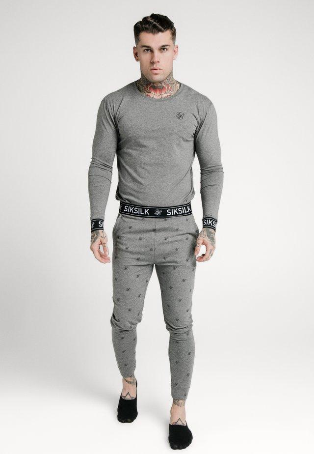 LOUNGE TEE - Maglietta a manica lunga - grey