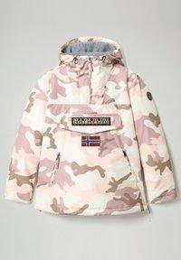 Napapijri - RAINFOREST PRINT CAMO - Veste d'hiver - camou pink - 1