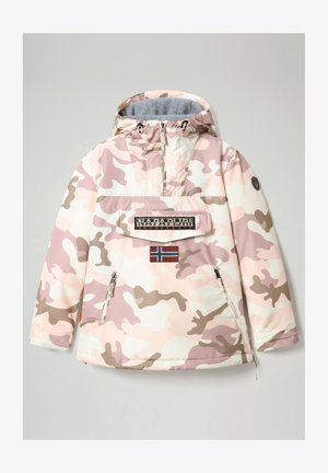 RAINFOREST PRINT CAMO - Winter jacket - camou pink