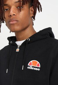 Ellesse - MILETTO - Zip-up hoodie - anthracite - 3