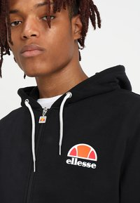 Ellesse - MILETTO - Zip-up hoodie - anthracite - 3