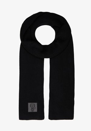 IKONIK PATCH SCARF - Scarf - black