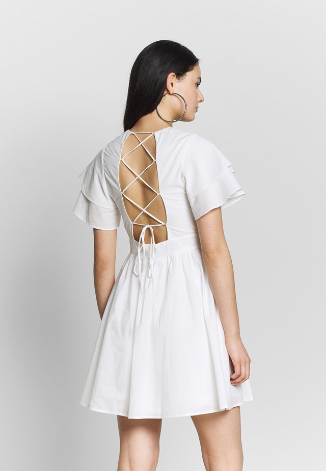 ALEX - Day dress - white