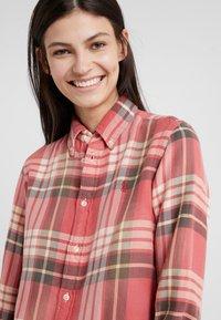 Polo Ralph Lauren - Button-down blouse - red/navy - 4