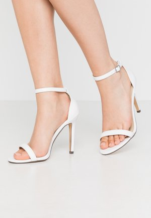 JASMINE - High heeled sandals - white