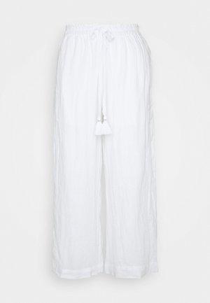 VICOLO DRAWSTRING PANT  - Bukse - white