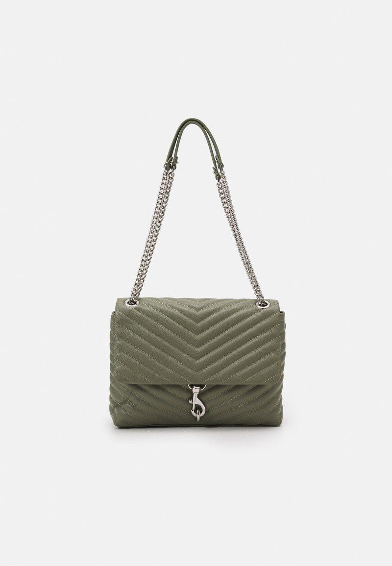 Rebecca Minkoff - EDIE FLAP SHOULDER - Handbag - mist
