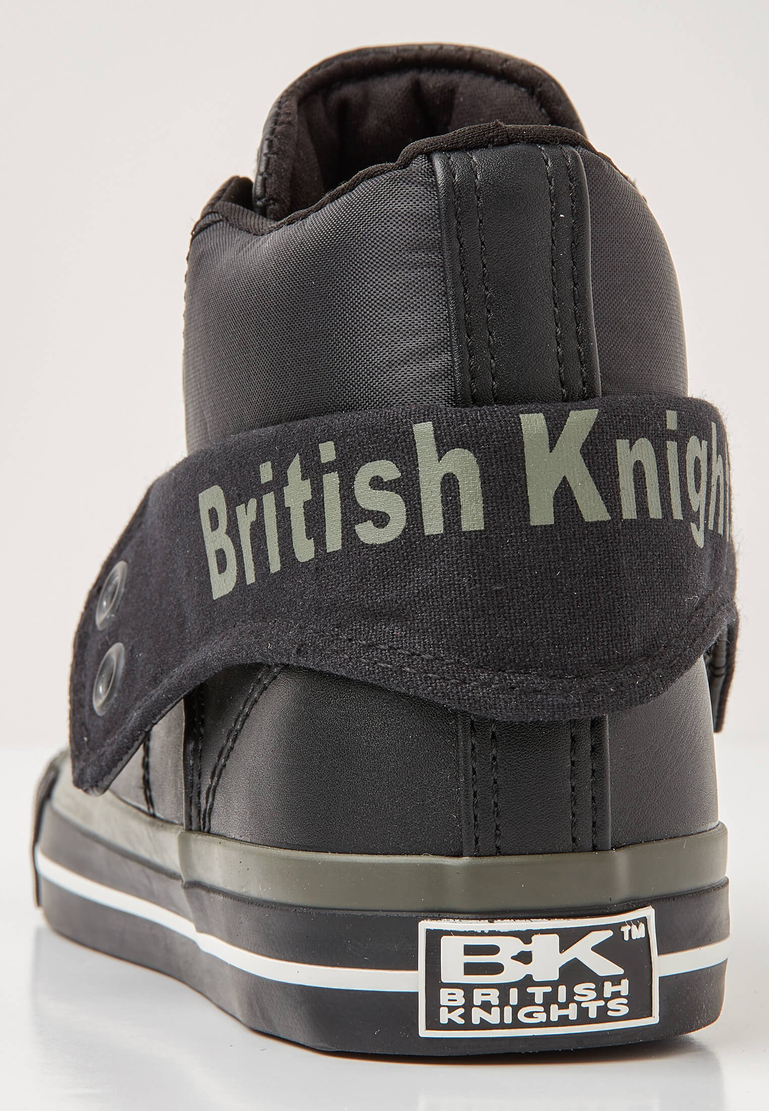 British Knights ROCO - Sneaker low - black/khaki/black/schwarz - Herrenschuhe 3pWPv