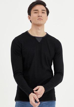 LEONAS - Long sleeved top - black