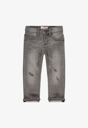 BERTINO MINI - Flared Jeans - light grey