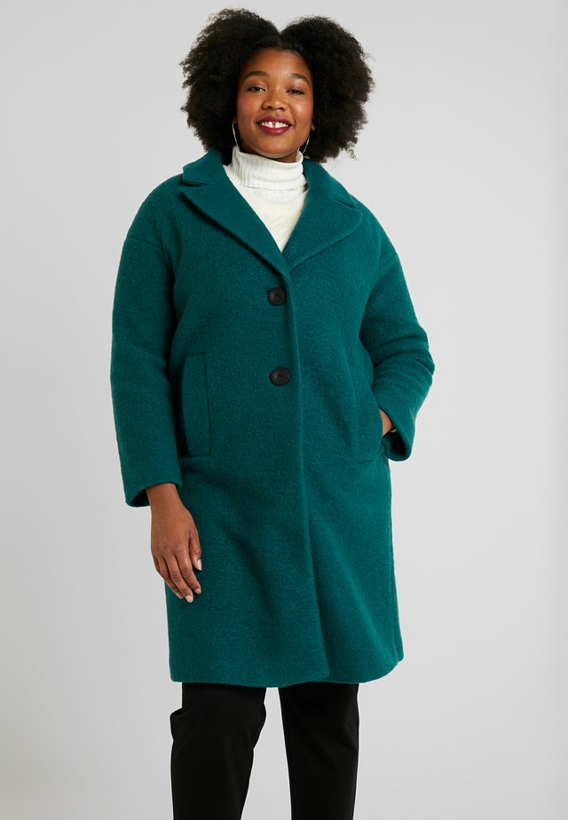 PLAIN COAT - Villakangastakki - aqua