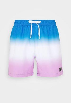 SYLVESTER - Swimming shorts - dipdye blue
