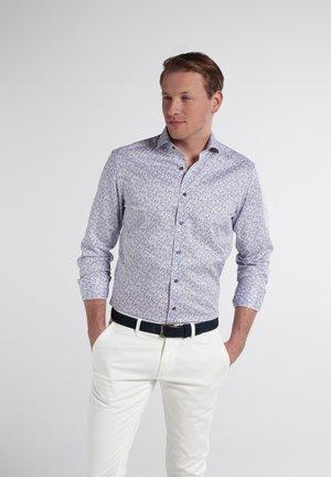 Shirt - beige/blau