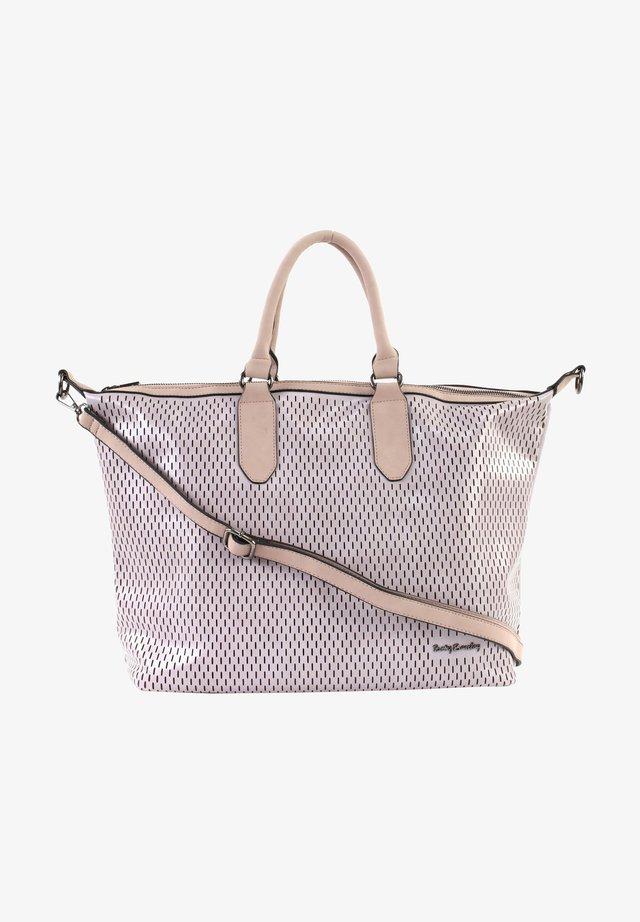 BOWLING BAG - Tote bag - dusty rose
