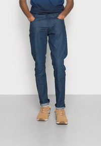 G-Star - STRAIGHT TAPERED - Straight leg jeans - antique worker denim raw denim - 0