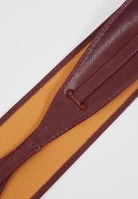 NAF NAF - SKIMONO - Waist belt - burgundy - 2